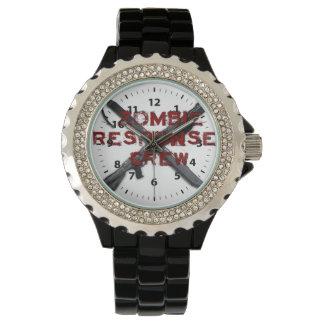 Equipo de la respuesta del zombi relojes de mano