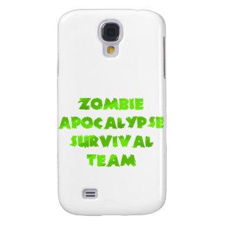 Equipo de la supervivencia de la apocalipsis del z funda para galaxy s4