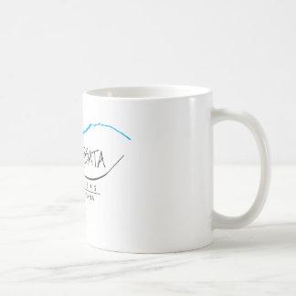 Equipo de la taza de café del logotipo