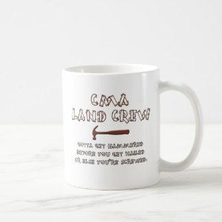equipo de la tierra taza de café