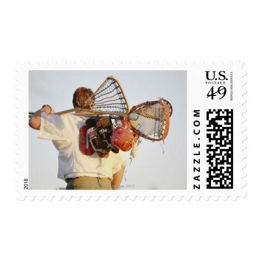 Equipo de LaCrosse Timbres Postales