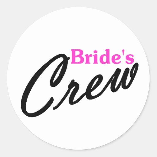Equipo de las novias etiquetas
