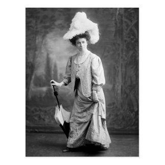 Equipo de lujo, 1900s tempranos tarjeta postal
