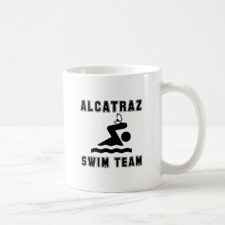 Equipo de natación de Alcatraz Taza Clásica