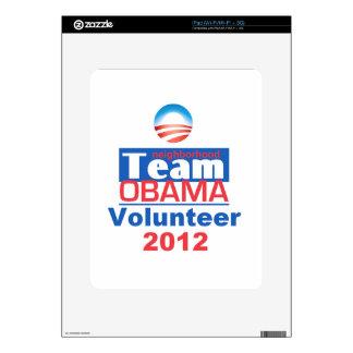 Equipo de Obama Calcomanías Para El iPad