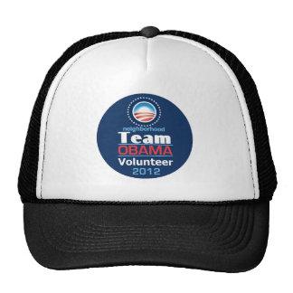 Equipo de Obama Gorro De Camionero