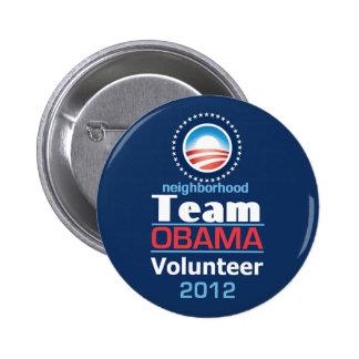 EQUIPO de Obama Pin
