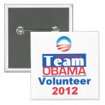 Equipo de Obama Pins