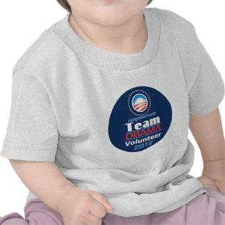 Equipo de Obama Camiseta