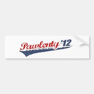 Equipo de Pawlenty Pegatina Para Auto