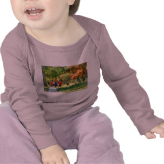 Equipo de pista camisetas