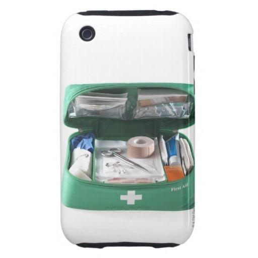 Equipo de primeros auxilios iPhone 3 tough cárcasa