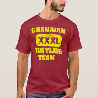 Equipo de prisa ghanés playera