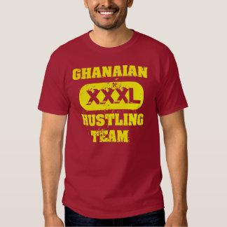 Equipo de prisa ghanés remera