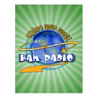 EQUIPO DE RADIO-AFICIONADO - EXPLORE SU MUNDO POSTAL