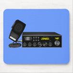 Equipo de radio-aficionado tapete de ratón