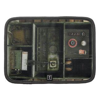 Equipo de radio del vintage militar de Comms