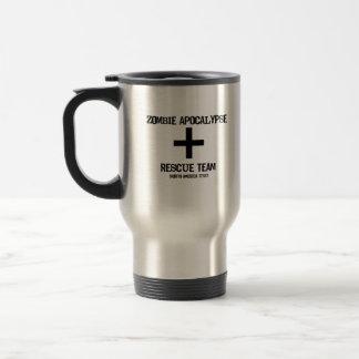 Equipo de rescate Norh Div americano de la apocali Tazas De Café