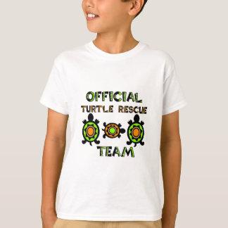 Equipo de rescate oficial 1 de la tortuga playera