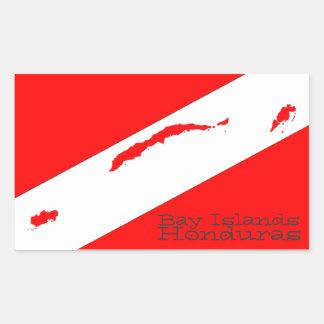 Equipo de submarinismo de las islas de la bahía rectangular altavoces