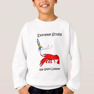 Equipo de submarinismo divertido camisas