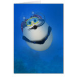 EQUIPO DE SUBMARINISMO subacuático Eggventure Tarjeta De Felicitación