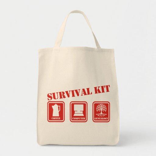 Equipo de supervivencia bolsas de mano
