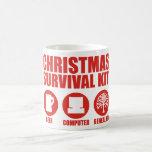 Equipo de supervivencia de Navidad - cerveza Taza De Café