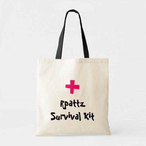 Equipo de supervivencia de Rpattz Bolsa Tela Barata
