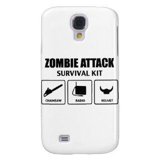 equipo de supervivencia del ataque del zombi carcasa para galaxy s4