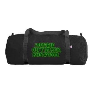 Equipo de supervivencia del zombi bolsa de deporte