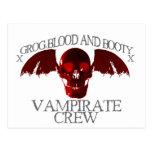 Equipo de Vampirate Tarjetas Postales