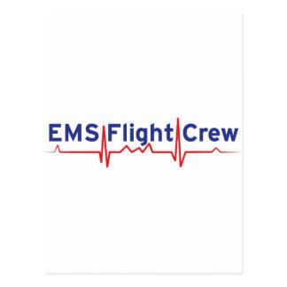 Equipo de vuelo del ccsme (bandera del fwd) postales
