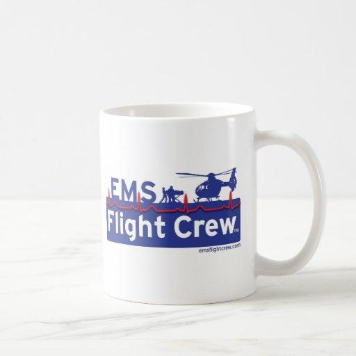 Equipo de vuelo del ccsme - nuevo taza de café