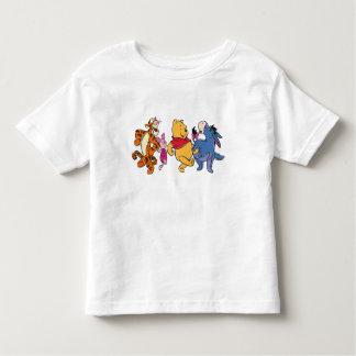 Equipo de Winnie the Pooh Playera De Bebé