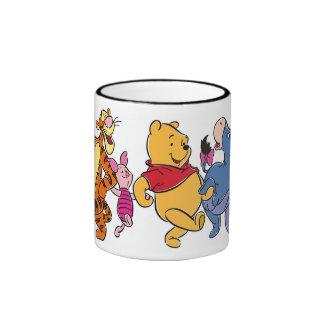 Equipo de Winnie the Pooh Taza De Dos Colores