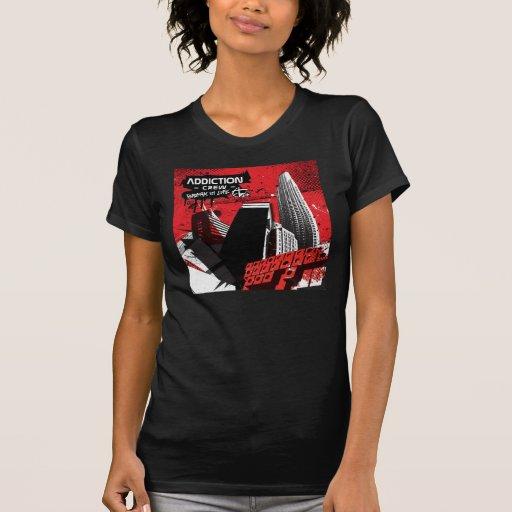 Equipo del apego - adapte camisa de las chicas de