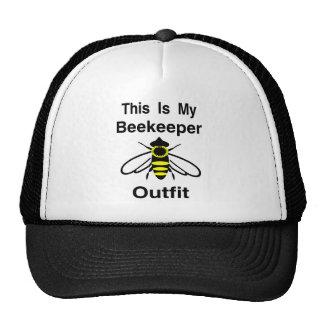 Equipo del apicultor gorro