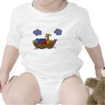 Equipo del bebé de la arca del AF Noah Camisetas