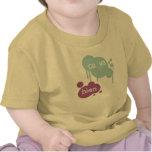 Equipo del bebé del Ca Va Bien Camiseta