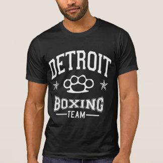 Equipo del boxeo de Detroit Camiseta