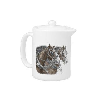 Equipo del caballo de proyecto de Clydesdale