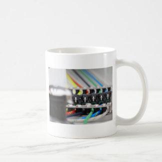 Equipo del canotaje tazas de café