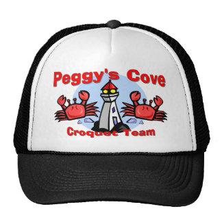 Equipo del croquet de la ensenada de Peggy Gorras
