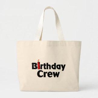 Equipo del cumpleaños bolsas
