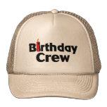 Equipo del cumpleaños gorra