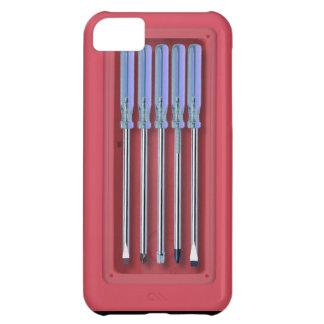 Equipo del destornillador funda para iPhone 5C