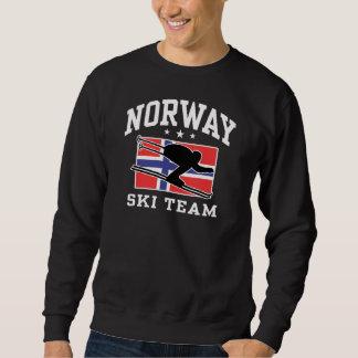 Equipo del esquí de Noruega Sudadera