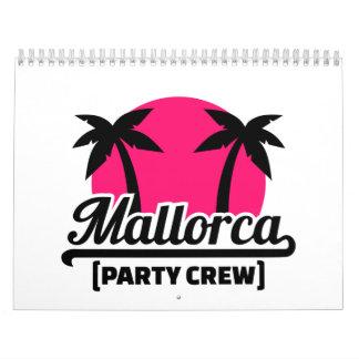 Equipo del fiesta de Mallorca Calendarios