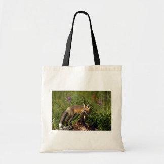 Equipo del Fox rojo Bolsas Lienzo